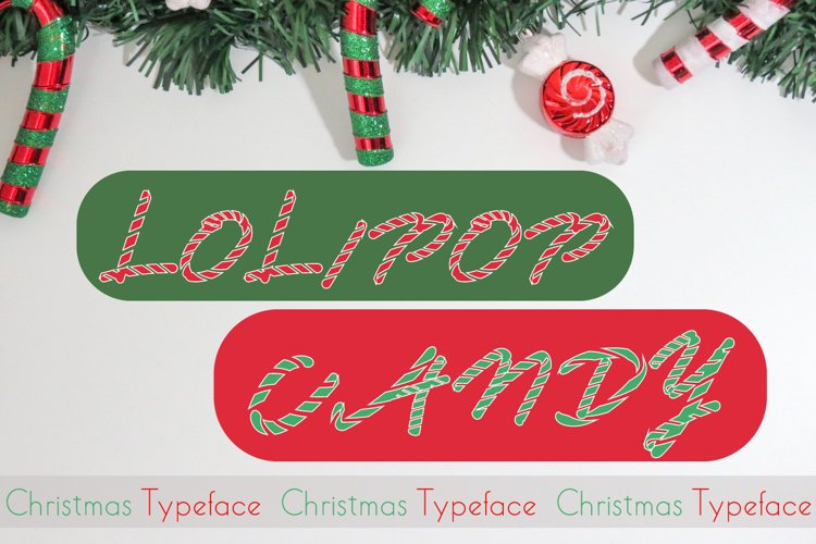 Lolipop Candy| Modern Script Typeface Font example image 1