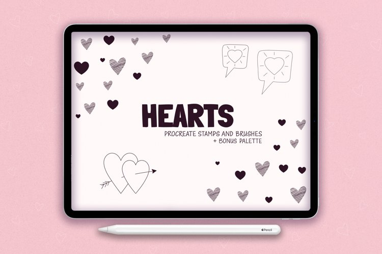 Procreate Stamps Shapes Brushes Procreate Heart
