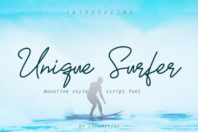 Unique Surfer example image 1