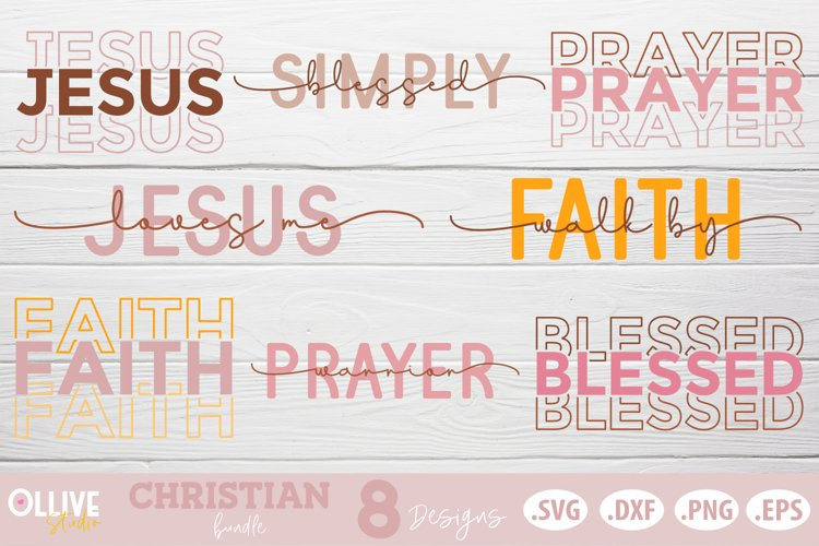 Christian SVG  Christian Quotes SVG example image 1