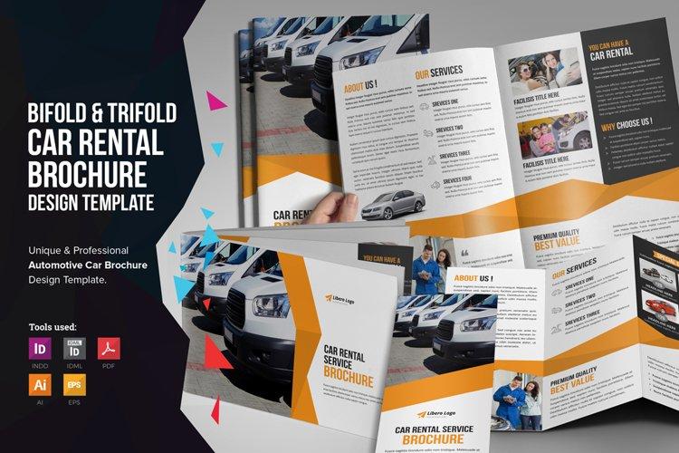 Auto Car Rental Service Brochure v1 example image 1