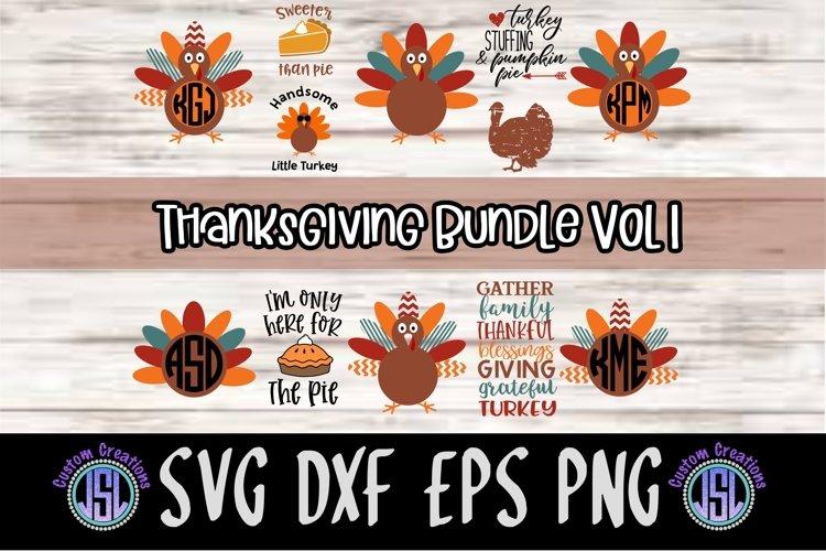 Thanksgiving Bundle Set of 12  SVG DXF EPS PNG Files