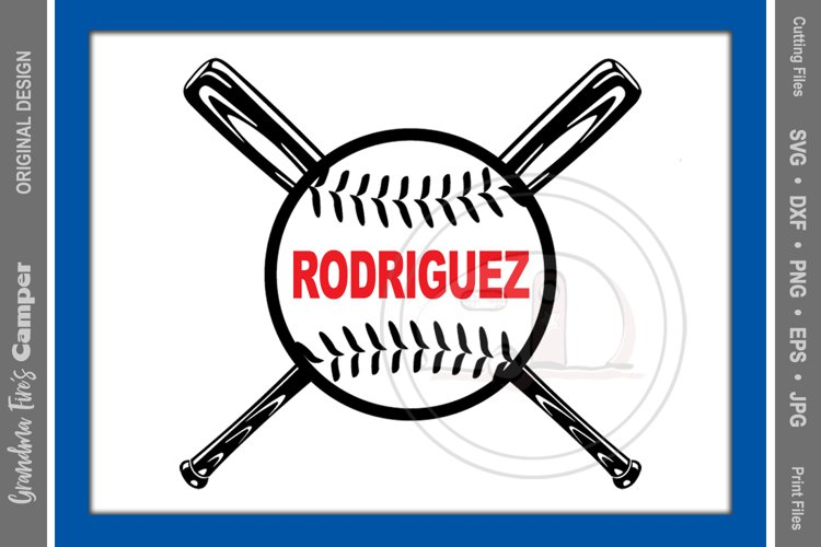 Baseball Decal SVG, Personalize Helmet Decal example image 1