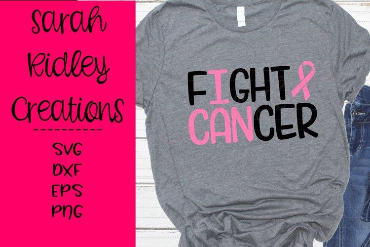 I Can Fight Cancer Svg, Cancer Svg, Cancer Awareness example image 1