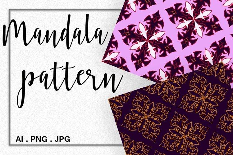 Madala pattern in Gothic style