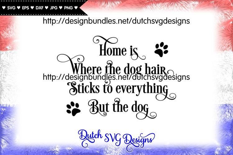 Dog text cut file, dog svg, dog cut file, paw print svg example image 1