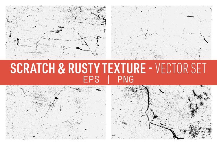 Rusty and Scratched Iron Textures Pack example image 1