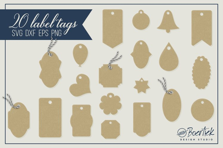 20 label tags for cutting machines example image 1