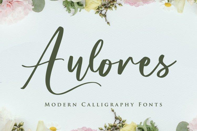 Aulores Script example image 1