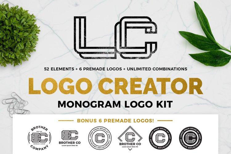 Monogram Logo Creator example image 1
