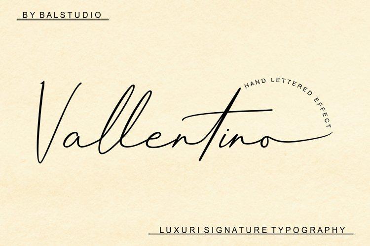 Vallentino Signature example image 1