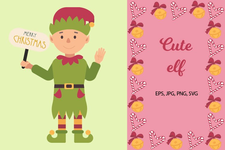 Cute elf example image 1