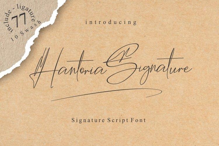 Hantoria Signature example image 1