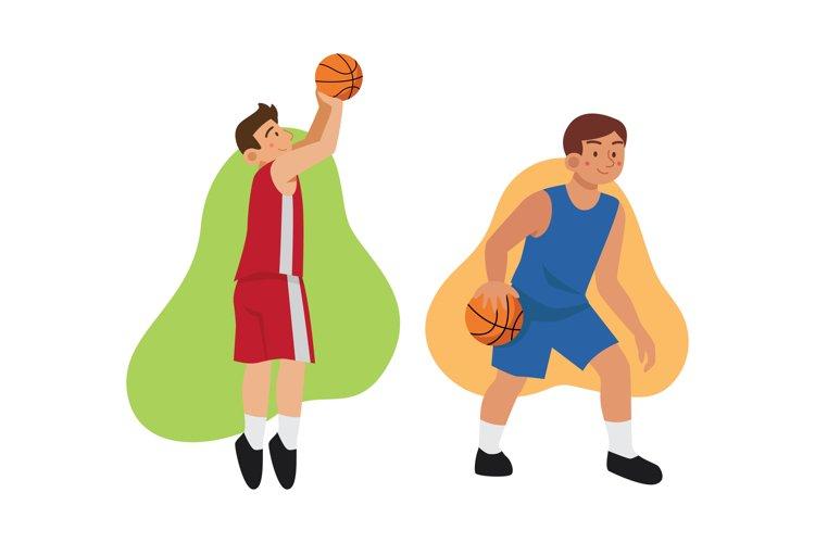 Basketball Illustrations