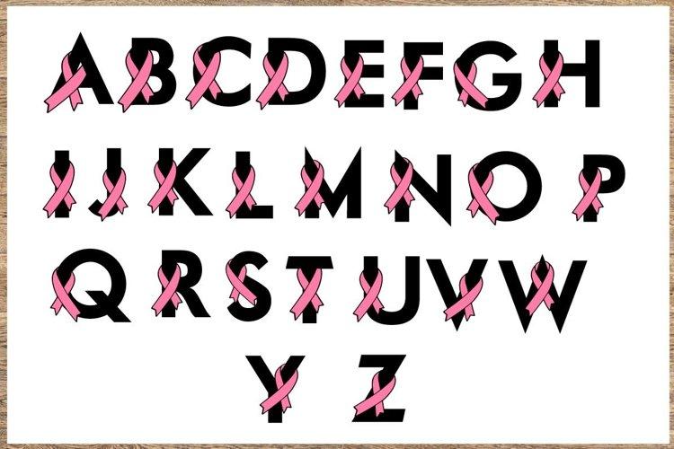 Breast cancer Bundle SVG Cancer awareness SVG example image 1