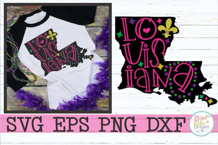 Louisiana State Pride example image 1