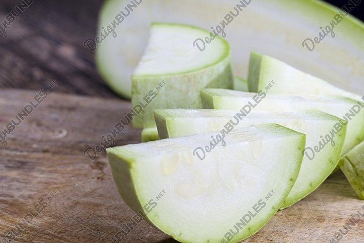 ripe sweet zucchini example image 1