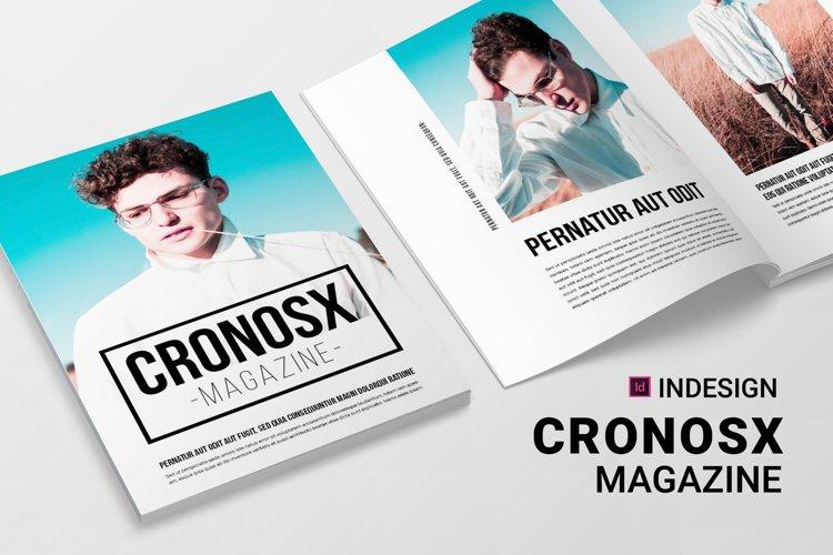 Cronosx | Magazine example image 1