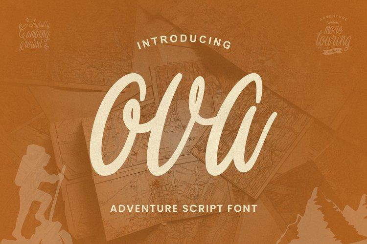 Ova Font example image 1