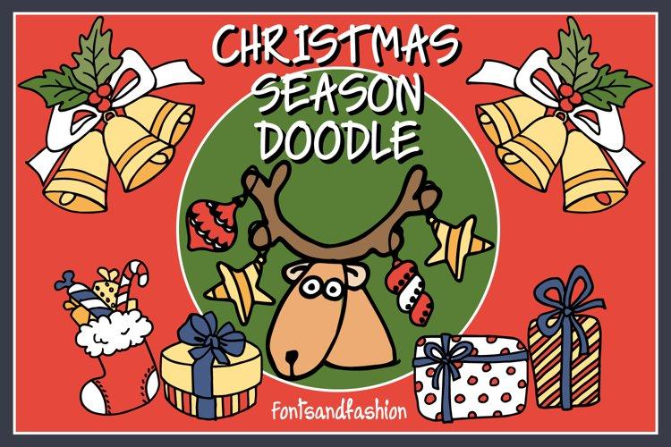 Christmas Season Doodle