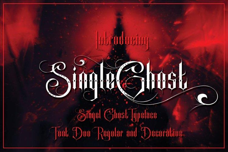 Singel Ghost example image 1