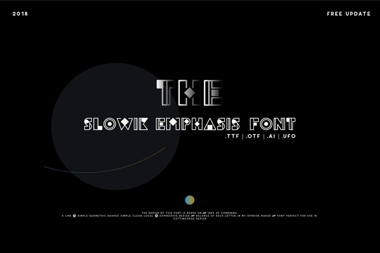 Web Font Slowik Emphasis-Regular Font example image 1
