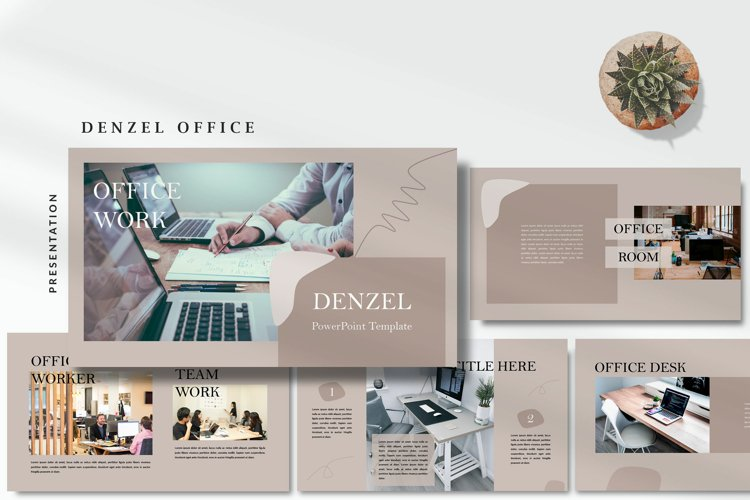 Denzel Office - Minimal Powerpoint Template