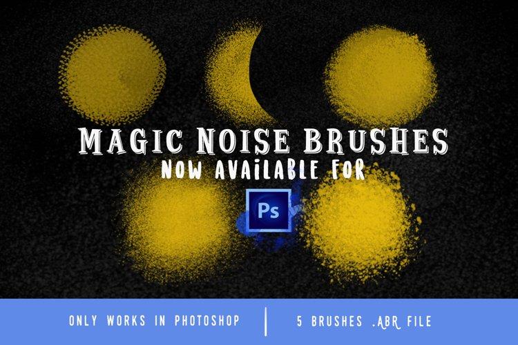 Magic Noise brushes for Photoshop example image 1