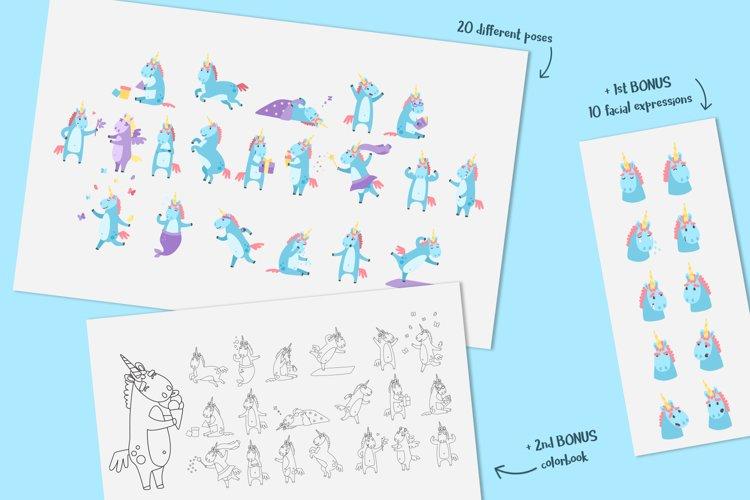 Emotional Unicorn Set example 1