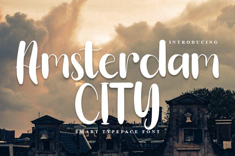 Amsterdam City - Beauty Handwritten Font example image 1