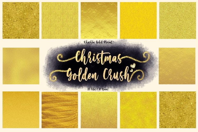 Christmas Golden Crush example image 1
