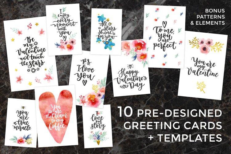 10 Valentines Cards + Bonuses! example image 1