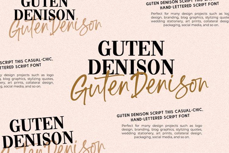Guten Denison example image 1
