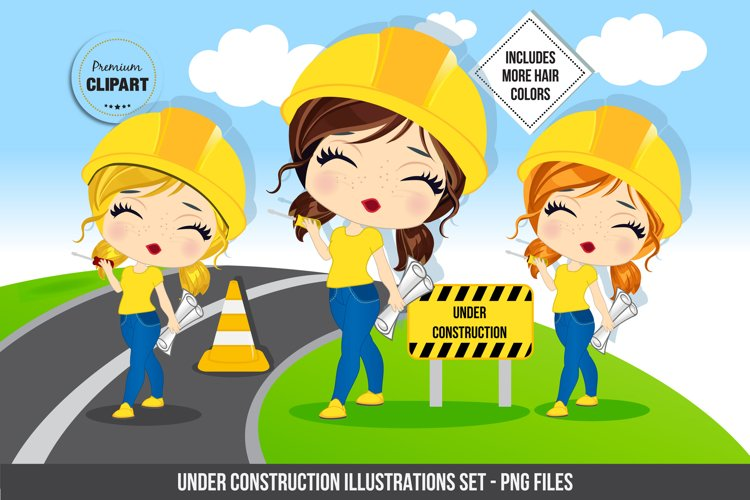 Construction clipart, Construction birthday example image 1