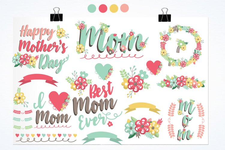 Mother's day graphics and illustrations - Free Design of The Week Design3