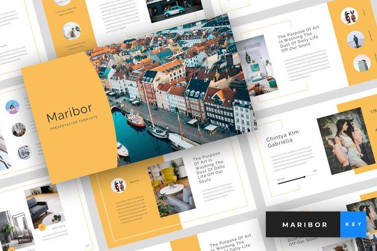 Maribor - Creative Keynote Template example image 1