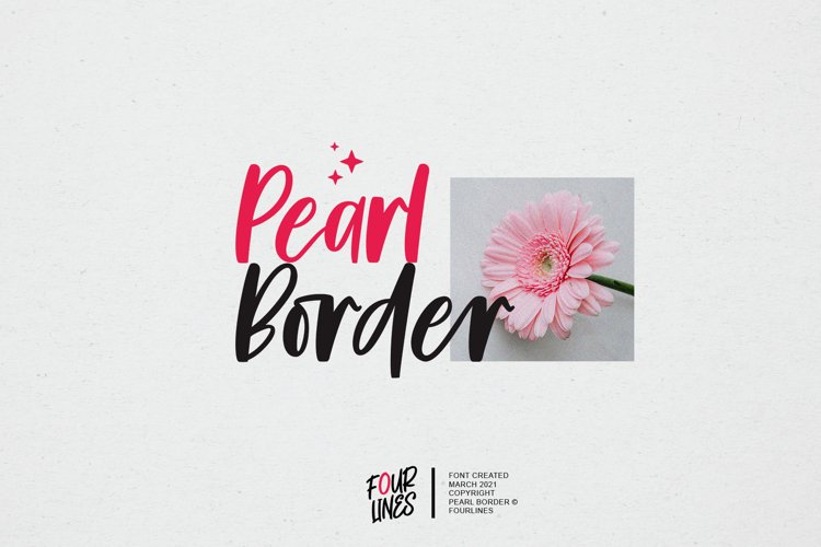 Pearl Border example image 1