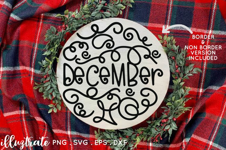 Months of the year SVG Cut File   Planner Stickers SVG example 2