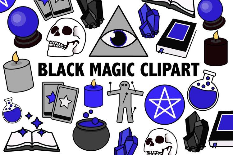 Black Magic Clipart example image 1