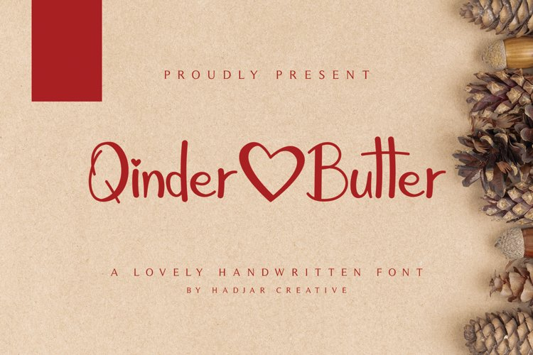 Qinder Butter example image 1