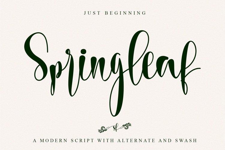 Springleaf example image 1