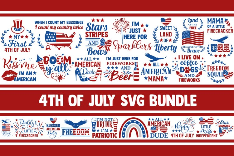 4th of July SVG Bundle, fourth of july svg, independence day