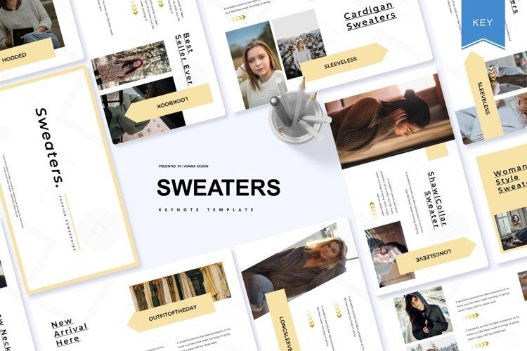 Sweaters   Powerpoint, Keynote, GoogleSlides Template example image 1