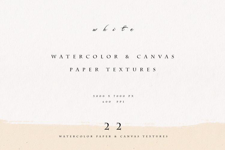 Watercolor Paper & Canvas Fine Art Set example image 1