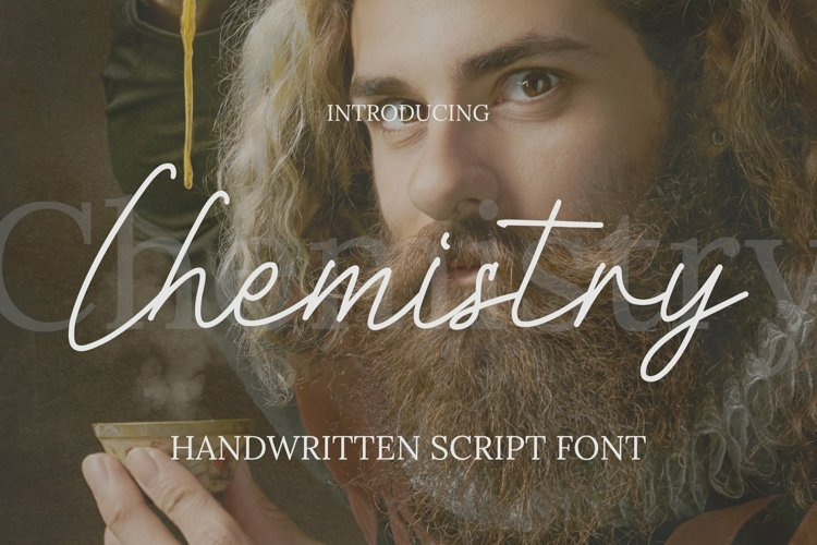 Web Font Chemistry Font example image 1