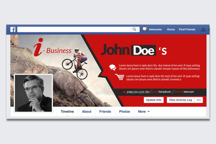 Business Empowerment FB Timeline example image 1