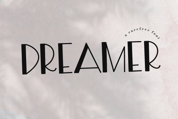 Dreamer - A Free Spirit Font example image 1