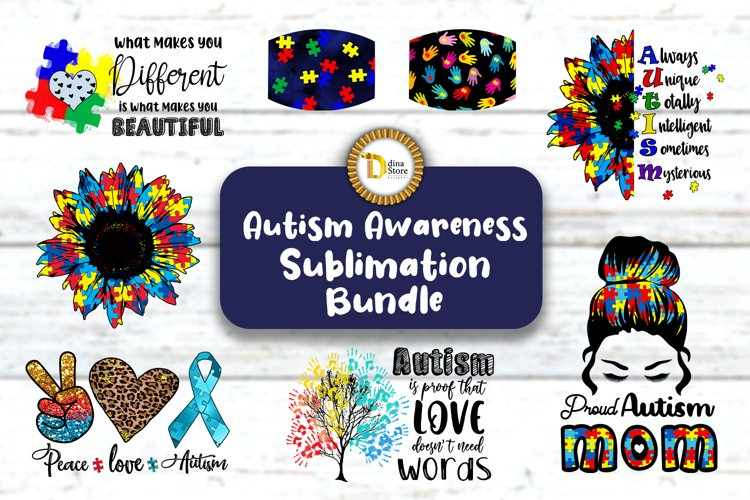 Autism Awareness Sublimation Bestseller Designs