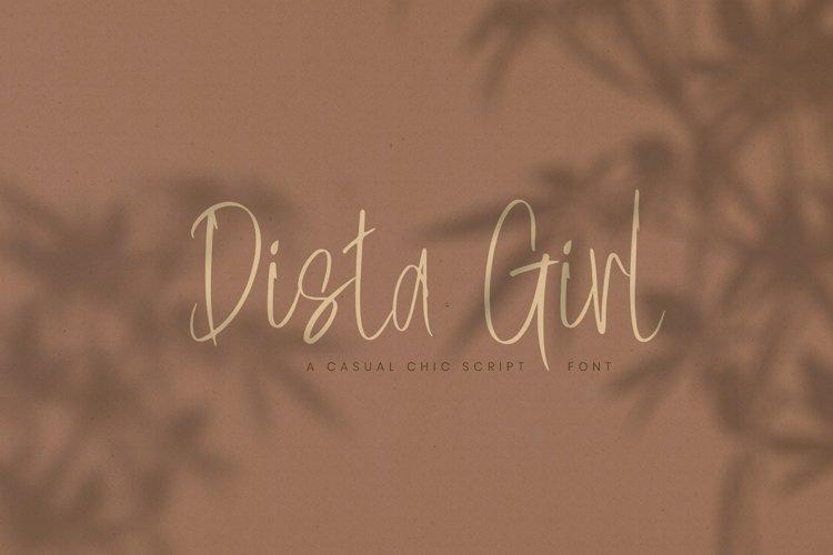 Dista Girl example image 1