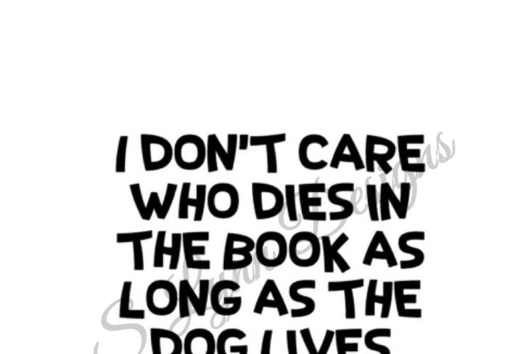 As Long as the Dog Lives SVG File example image 1